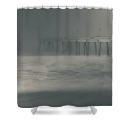 The Chill In My Bones Shower Curtain by Laurie Search