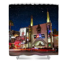 The Chinese Theater 2 Shower Curtain by Robert Hebert