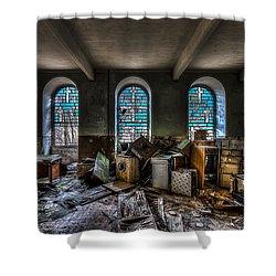 The Church - La Chiesa Shower Curtain