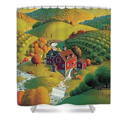 The Cider Mill Shower Curtain