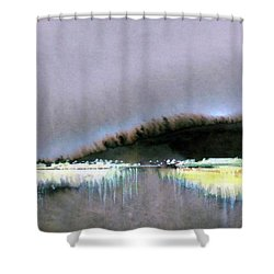 The City Lights Shower Curtain by Ed Heaton
