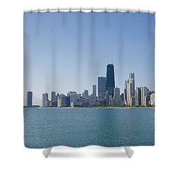 The City Of Chicago Across The Lake Shower Curtain