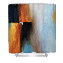 The Clearing 1 Shower Curtain by Michelle Joseph-Long