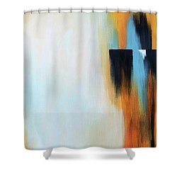 The Clearing 2 Shower Curtain by Michelle Joseph-Long