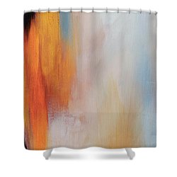 The Clearing 3 Shower Curtain by Michelle Joseph-Long
