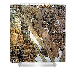 The Climb To Abbot's Hut Shower Curtain by Steve Harrington