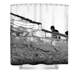 Shower Curtain featuring the photograph The Climbers by John Williams