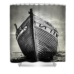 The Clinker Shower Curtain