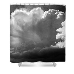 The Cloud Gatherer Shower Curtain by John Bartosik