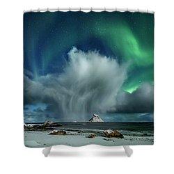 The Cloud II Shower Curtain