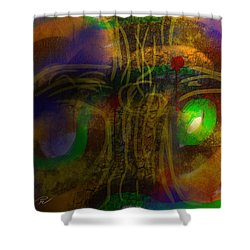 The Color Of Life Shower Curtain