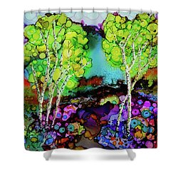 The Colors Of Colorado Shower Curtain