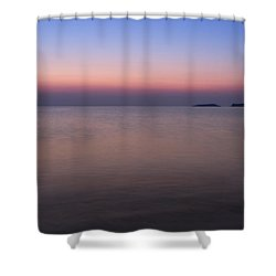 The Colors Of Dawn Shower Curtain