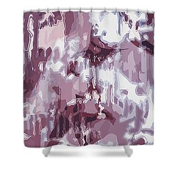 The Colors Of Love Shower Curtain by Moustafa Al Hatter