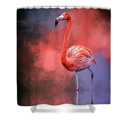 The Colors Of My World Shower Curtain by Cyndy Doty
