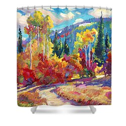 The Colors Of New Hampshire Shower Curtain