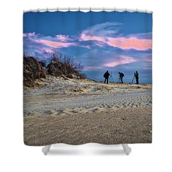 The Colors Of Sunset Shower Curtain
