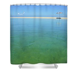 The Colours Of Paradise On A Summer Day Shower Curtain
