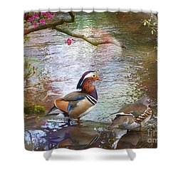 Shower Curtain featuring the photograph The Colours Of Spring by LemonArt Photography