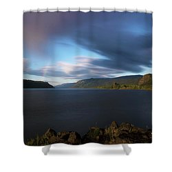The Columbia River Gorge Signed Shower Curtain