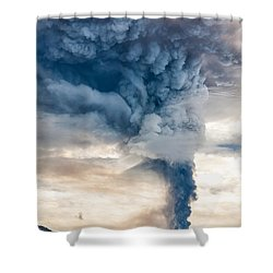 The Column Shower Curtain