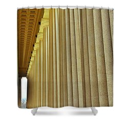 The Columns At The Parthenon In Nashville Tennessee Shower Curtain
