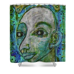 The Coming Of Spring Shower Curtain