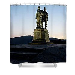 The Commando Memorial Shower Curtain