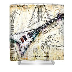 The Concorde Shower Curtain by Gary Bodnar