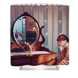 The Conversation Shower Curtain by Patrick Anthony Pierson