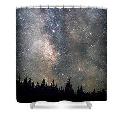 Shower Curtain featuring the photograph The Core by Cat Connor