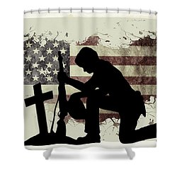 The Cost Of Freedom Shower Curtain