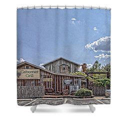 The Cotton Gin Village Shower Curtain