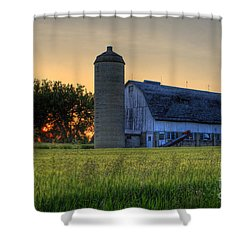 The Country Sunset Shower Curtain