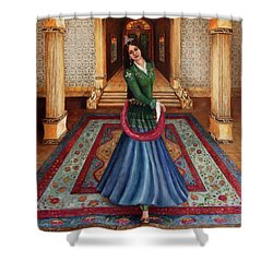 The Court Dancer Shower Curtain