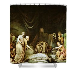 The Court Of Death Shower Curtain by Rembrandt Peale
