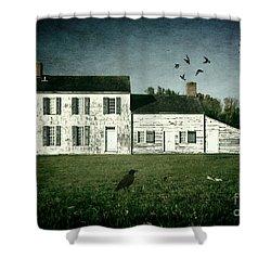 The Craig House II Shower Curtain