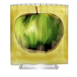 The Creative Apple  Shower Curtain