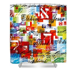 The Creator Shower Curtain