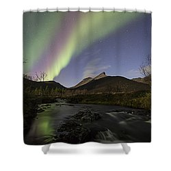 The Creek II Shower Curtain