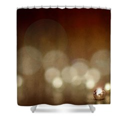 The Crimp Bead Shower Curtain