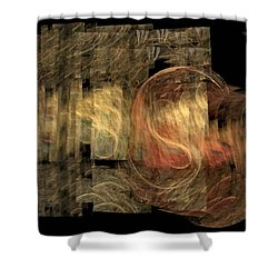 The Crooked Road Shower Curtain