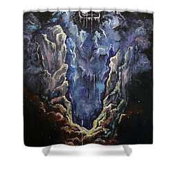 The Crown Shower Curtain by Cheryl Pettigrew