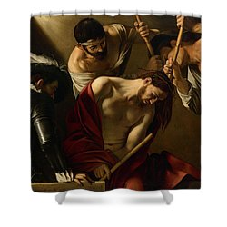 The Crowning With Thorns Shower Curtain