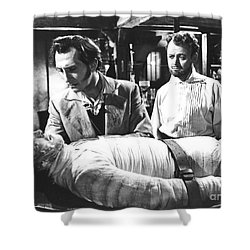 The Curse Of Frankenstein 1957 Baron Victor Frankenstein Shower Curtain