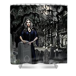 The Curse Of Johnson Bayou Shower Curtain by James Christopher Hill