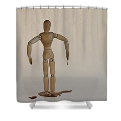 Shower Curtain featuring the photograph The Curse Of Maple Tree Ancestry by Mark Fuller