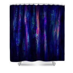 The Curtain Shower Curtain by Rachel Christine Nowicki