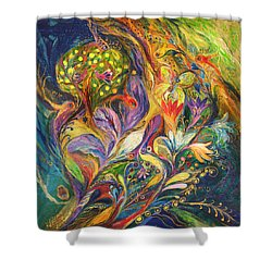 The Dance Of Lilies Shower Curtain by Elena Kotliarker