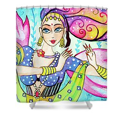 The Dance Of Pari Shower Curtain